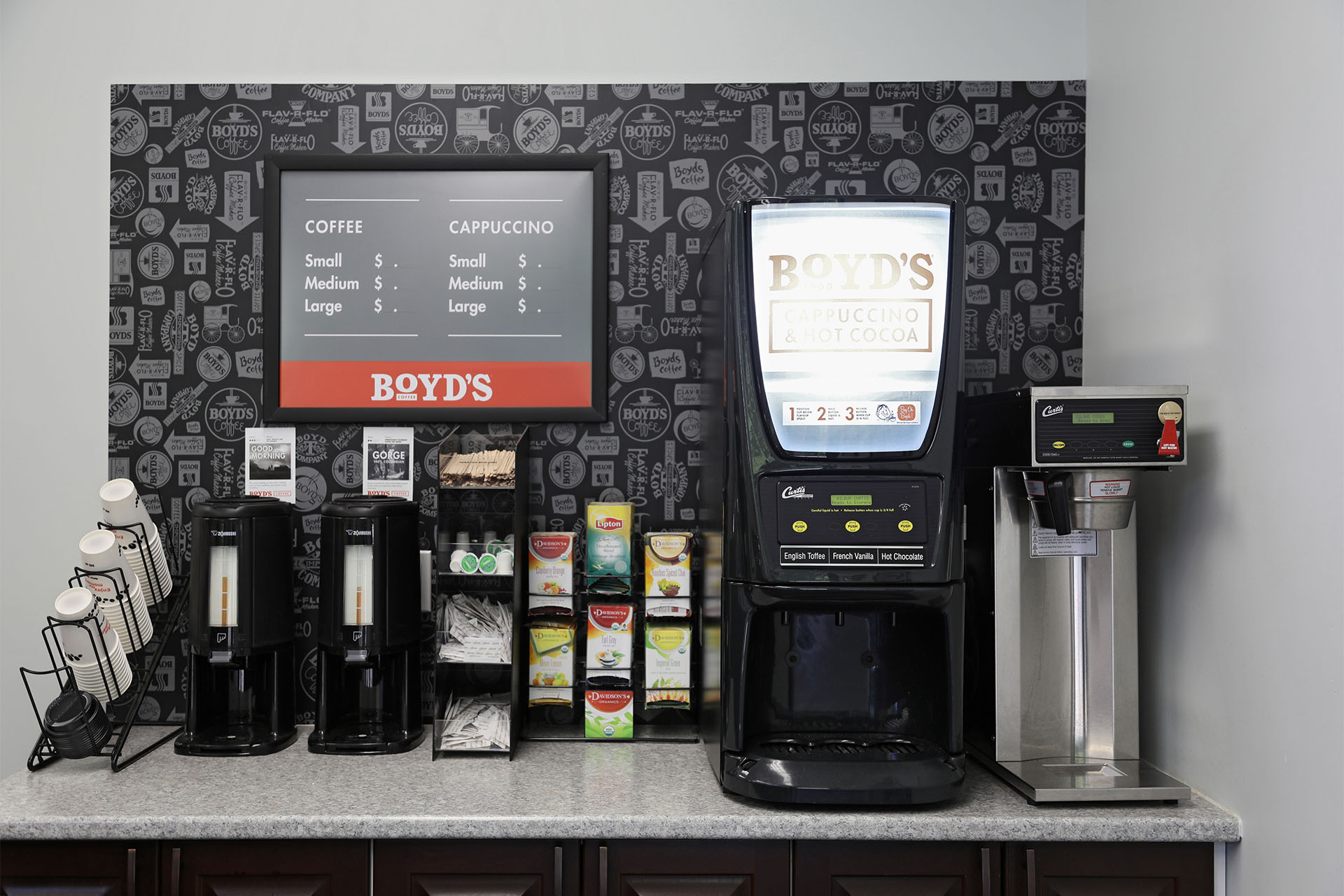 Island Foods delivers coffee products for convenience stores